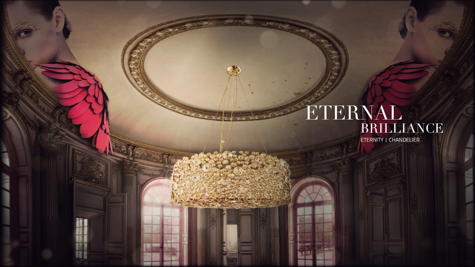 ETERNITY Chandelier Koket Love Happens