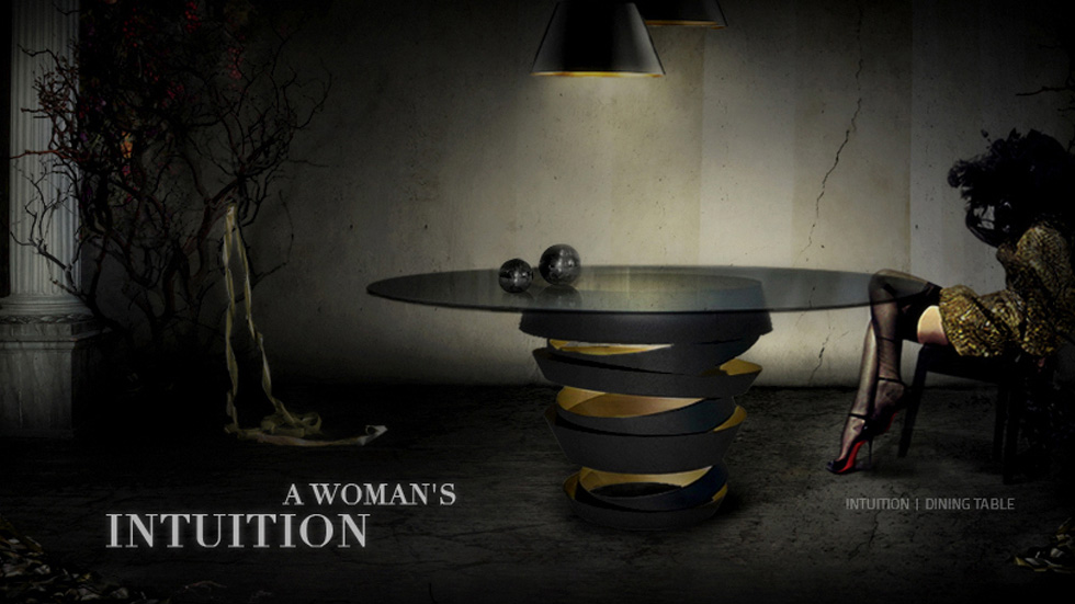 INTUITION Dinning Table Koket Love Happens
