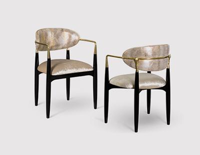 Nahema Chair by KOKET