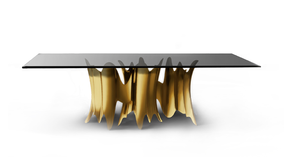 Obssedia Gold Dining Table  Summer Home Décor by Koket obssedia dining table 1