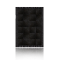 Black Cobra Rug by Koket