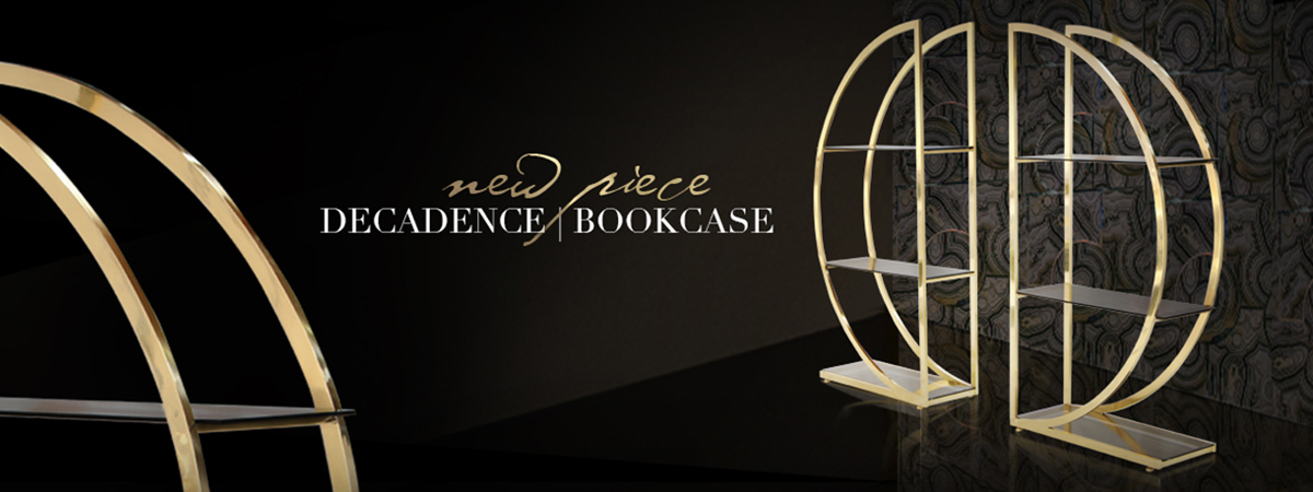 Decadence Bookcase Koket Love Happens