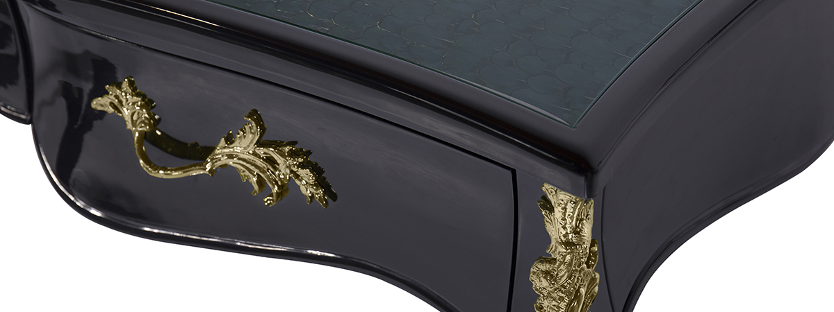 Exotic Ormolu Desk Koket Love Happens