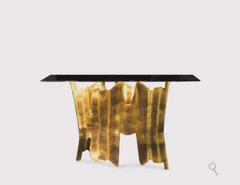 KOKET Obssedia Console designer console tables 10 Distinctive Designer Console Tables for a Contemporary Decor obssedia console 1 zoom