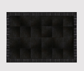 COBRA JET BLACK Rug by KOKET