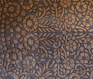 BENARAS ANTIQUE COPPER Fabric