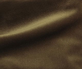 COZY VELVET BRONZE BROWN Fabric by KOKET