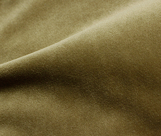 COZY VELVET CAMEL Fabric by KOKET