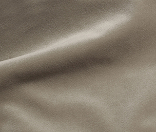 COZY VELVET SIMPLY TAUPE Fabric by KOKET