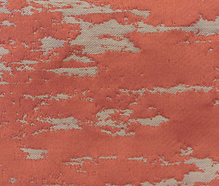 FLAIR SPICED CORAL Fabric