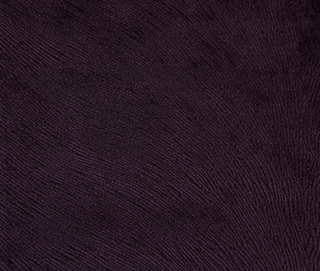 HIDE VELVET BERRY Fabric by KOKET