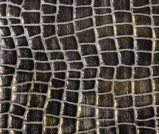 IRIDESCENT LUX CROC Fabric