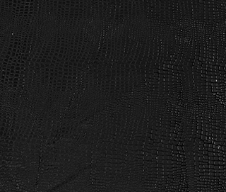 IRIDESCENT LUX PYTHON BLACK Fabric by KOKET