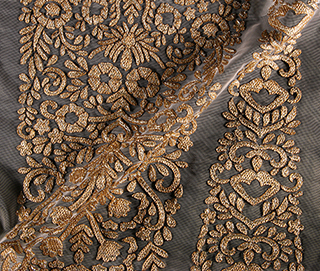 KALIDAR ANTIQUE GOLD Fabric
