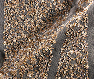 KALIDAR DULL GOLD Fabric
