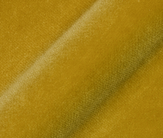 LUX VELVET 0163 LEMON YELLOW Fabric