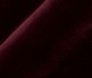 LUX VELVET 0348 DEEP BORDEAUX Fabric