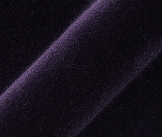LUX VELVET 0549 DEEP PURPLE Fabric