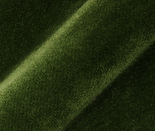 LUX VELVET 0790 EDEN GREEN Fabric