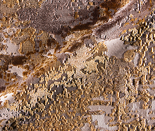 PALETTE GOLD Fabric