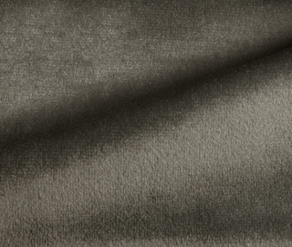 RADIANCE VELVET CHARCOAL GRAY Fabric by KOKET
