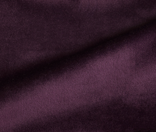 RADIANCE VELVET DEEP VIOLET Fabric by KOKET