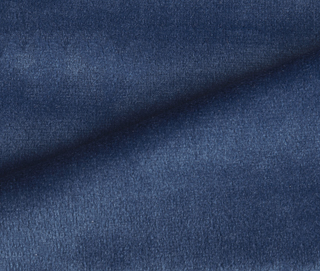RADIANCE VELVET INDIGO BLUE Fabric by KOKET