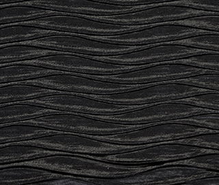 ROUCHED BLACK Fabric