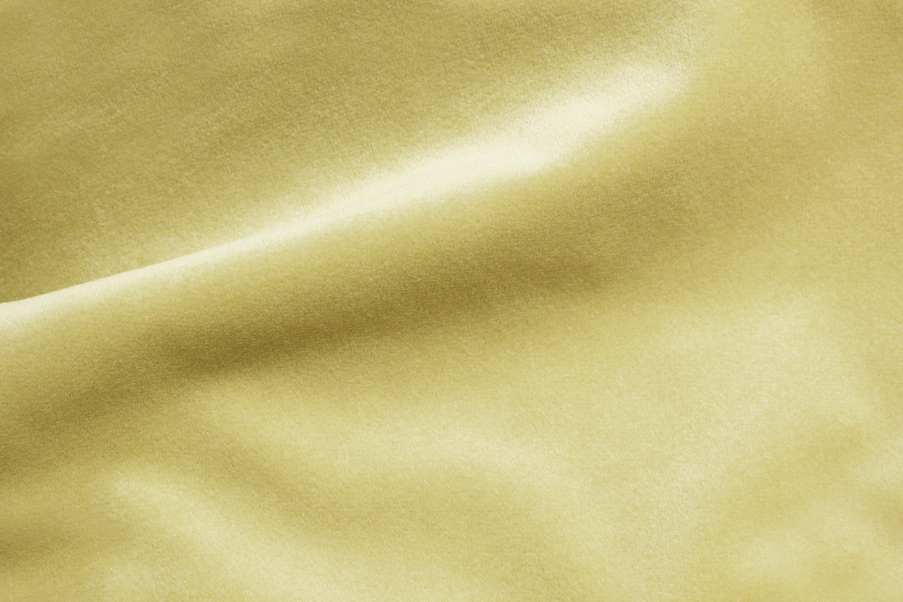 COZY VELVET VANILLA Fabric by KOKET