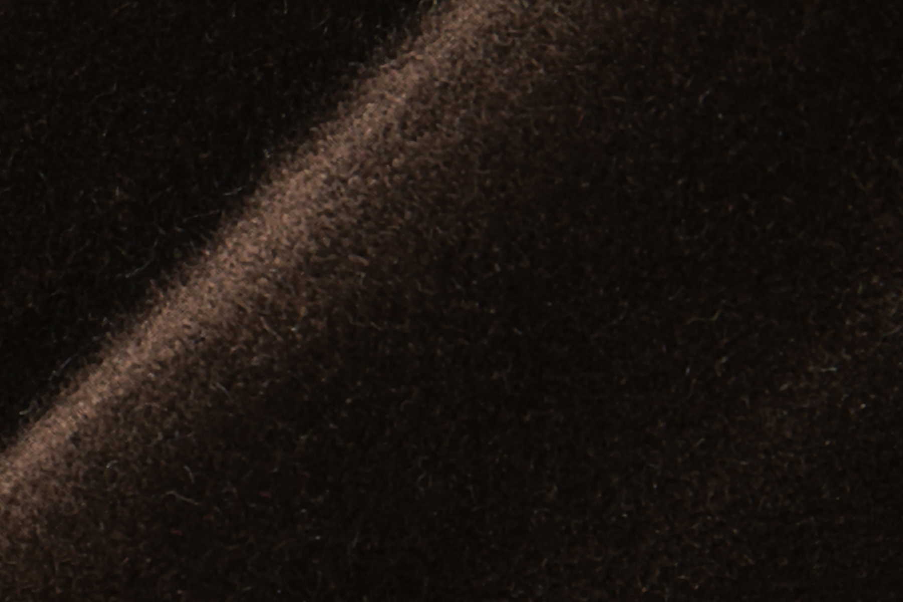 LUX VELVET 0459 BROWN Fabric by KOKET