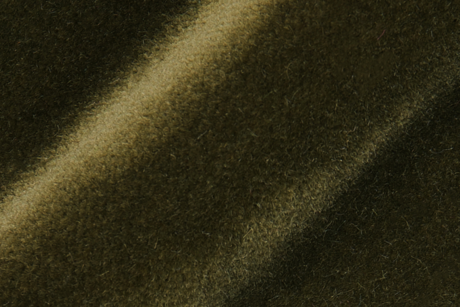 LUX VELVET 7033 SAFARI GREEN Fabric by KOKET