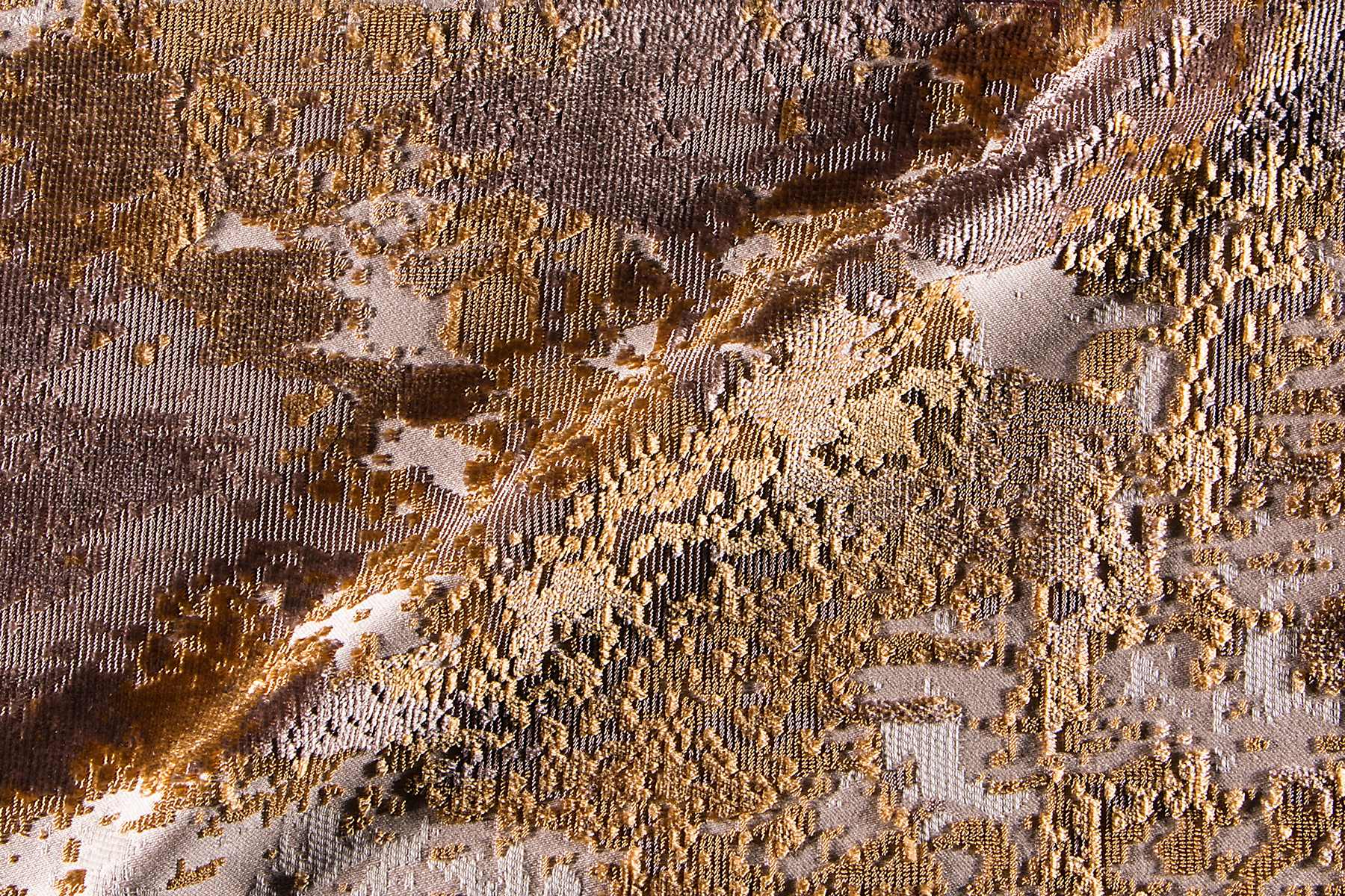 PALETTE GOLD Fabric by KOKET