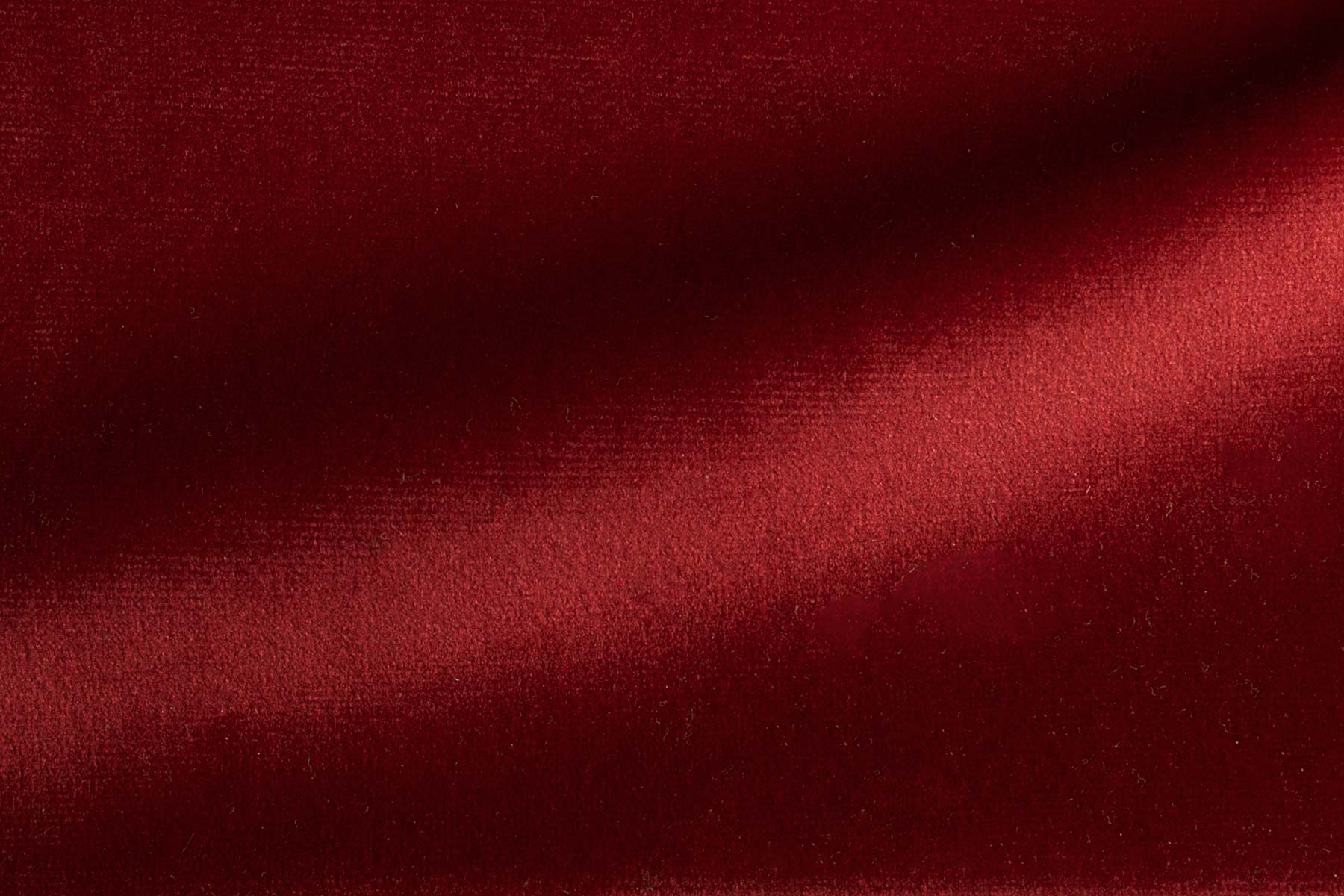 PARIS VELVET DEEP RED Fabric by KOKET