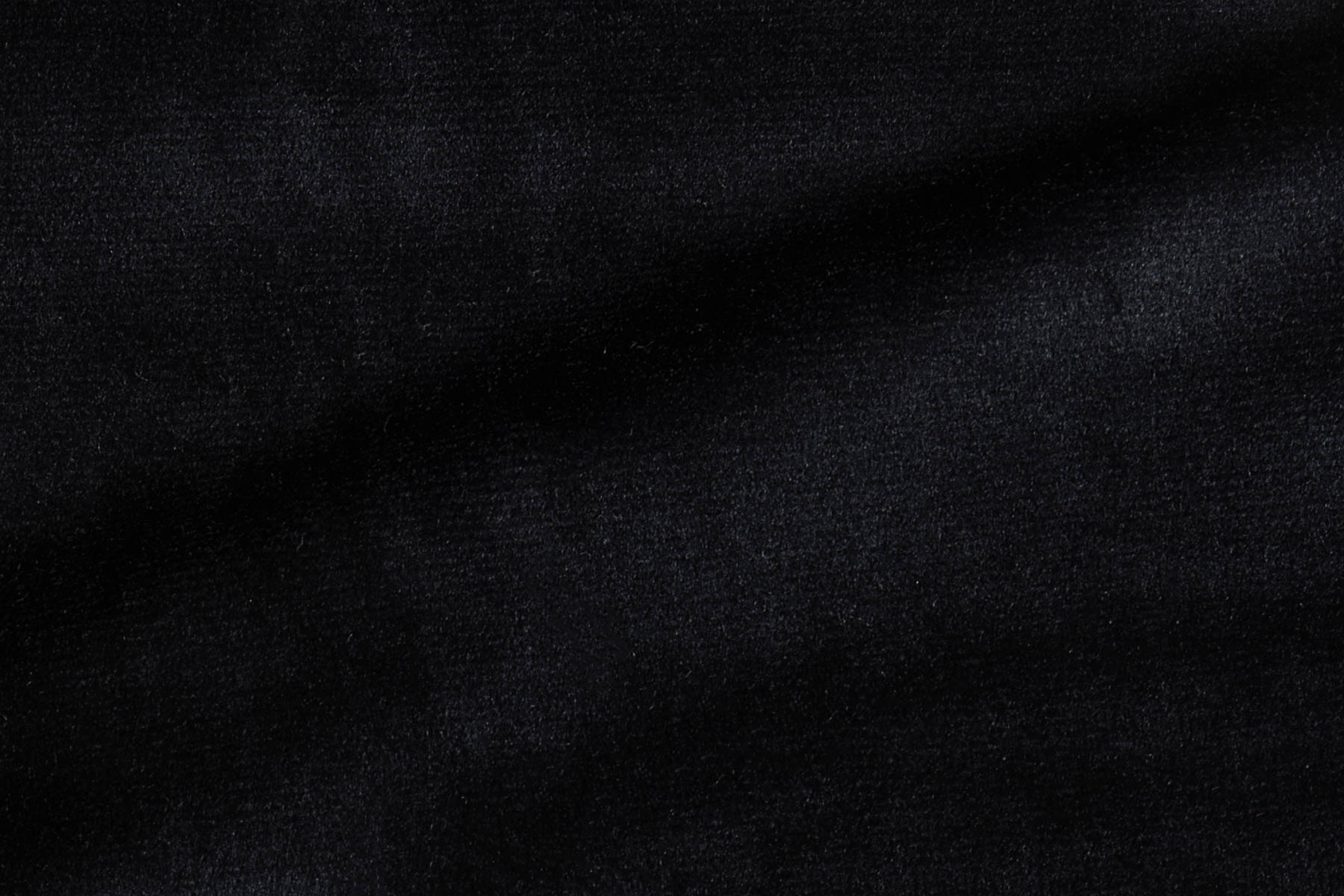 RADIANCE VELVET BLUISH BLACK Fabric by KOKET