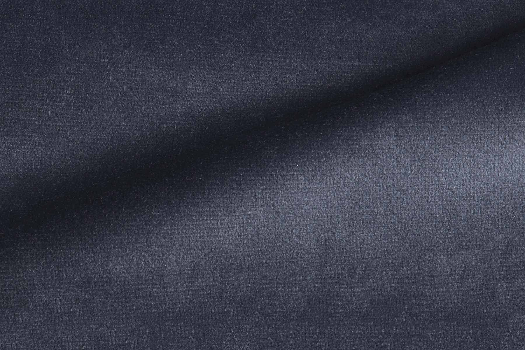 RADIANCE VELVET DEEP NAVY Fabric by KOKET