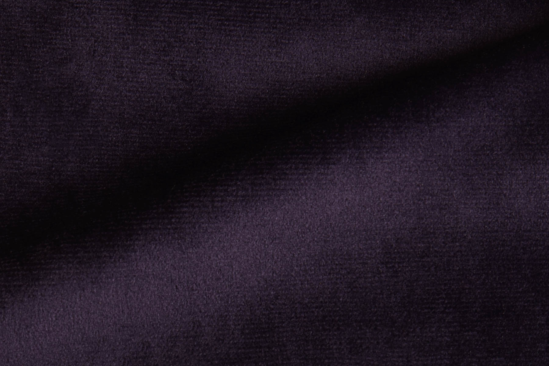 RADIANCE VELVET DEEP PURPLE Fabric by KOKET