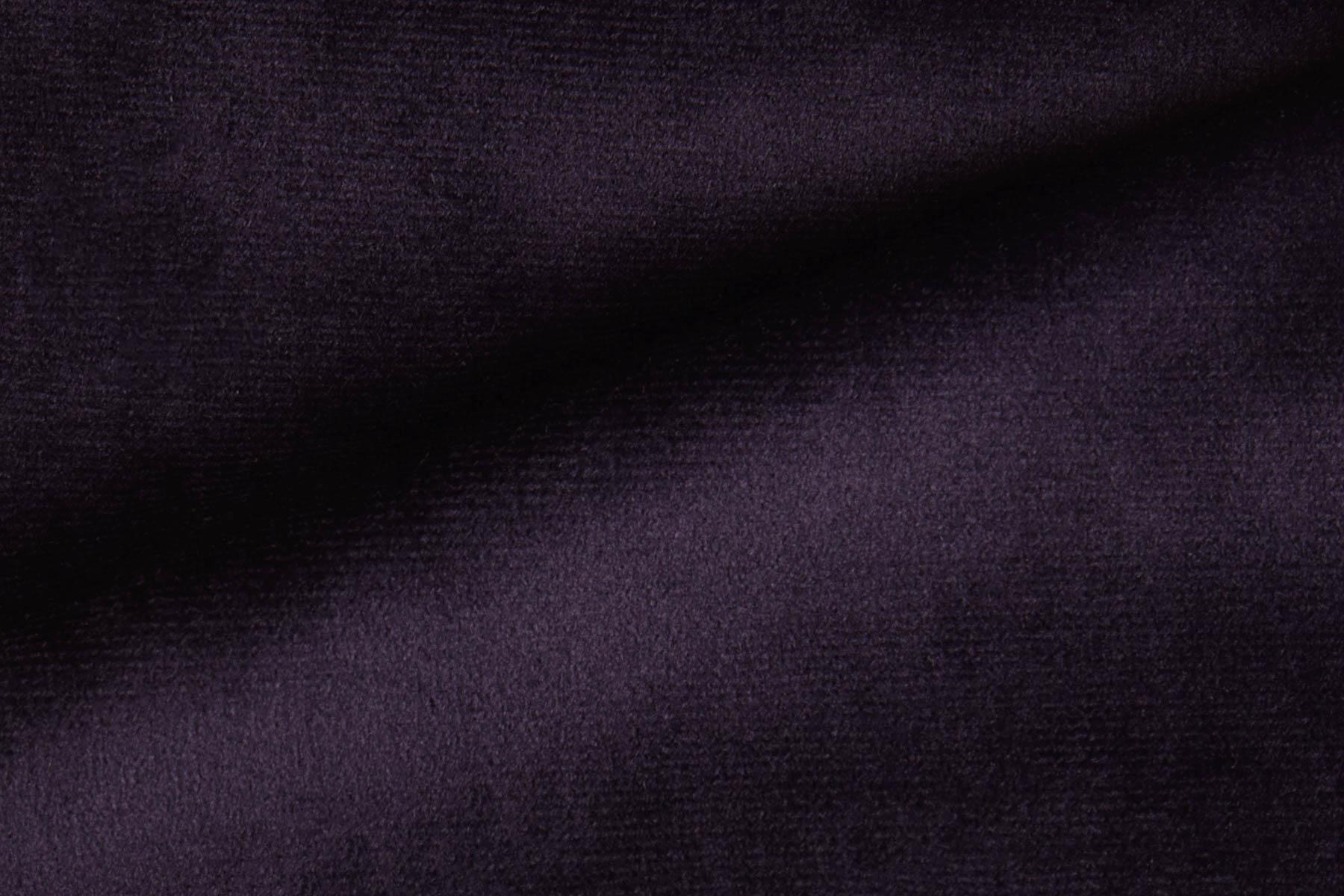 Fabric Radiance Velvet Deep Purple By Koket