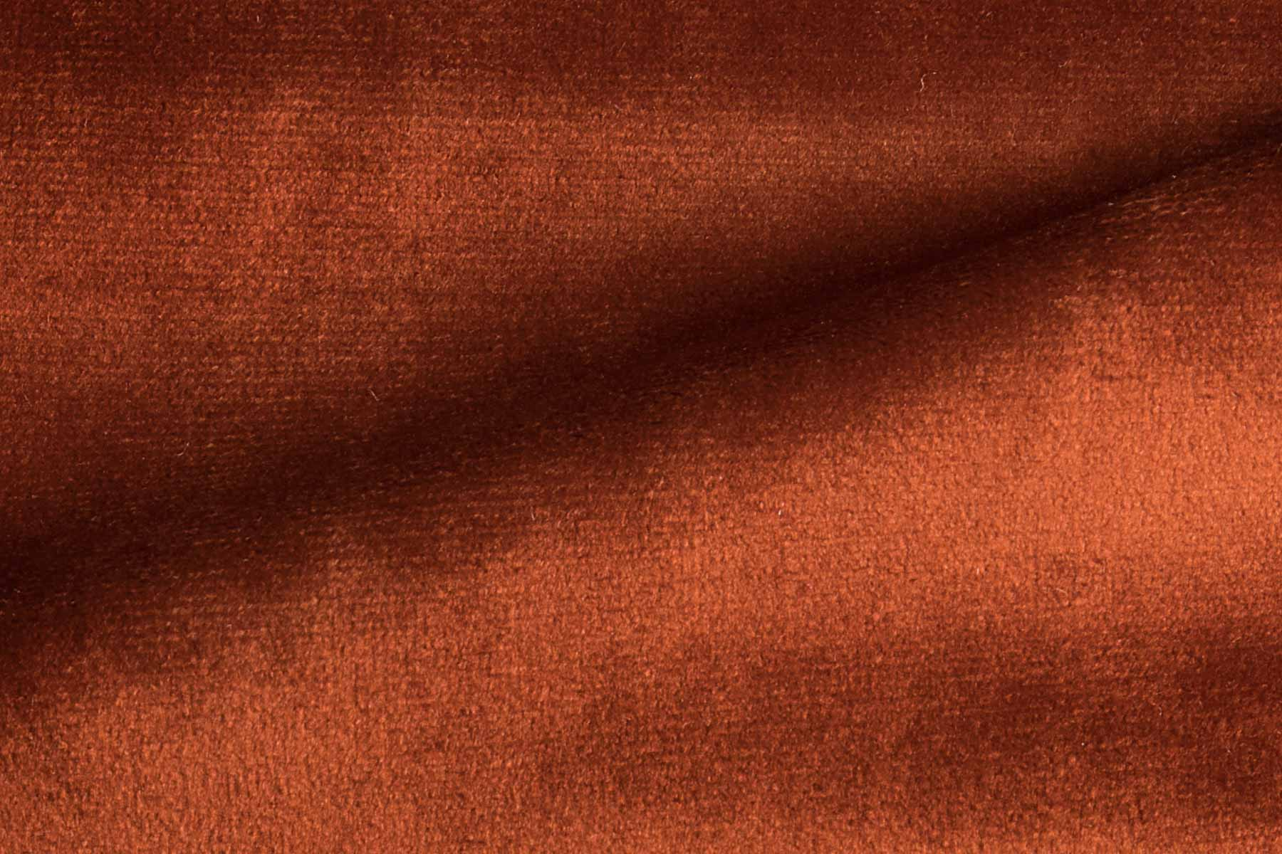 RADIANCE VELVET TERRACOTA Fabric by KOKET