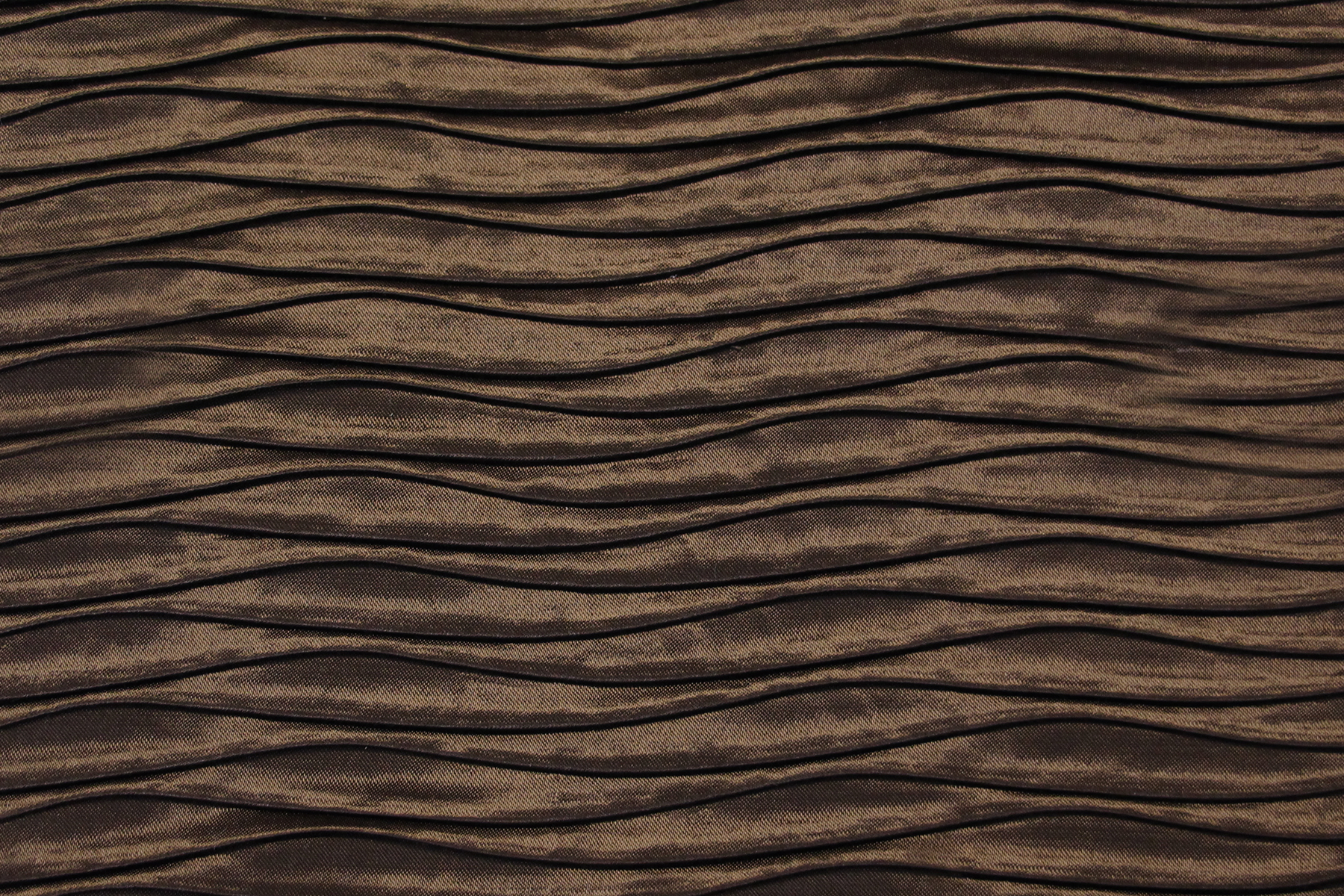 ROUCHED COCOA BROWN Fabric by KOKET