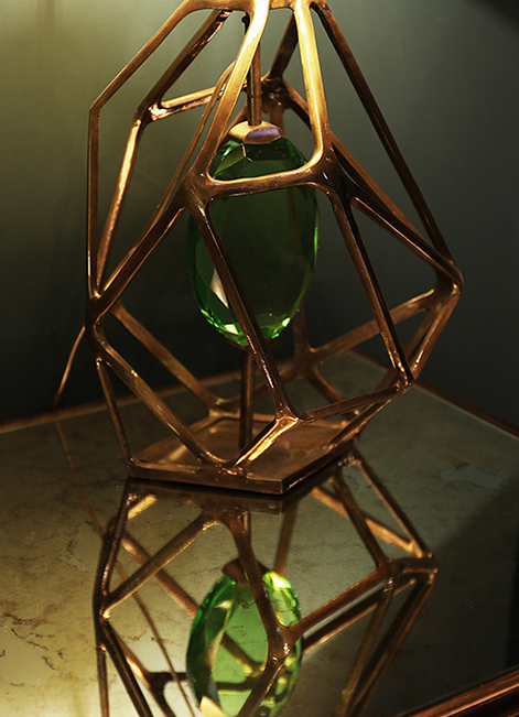 @koket Projects with Ruchê Table lamp, Spellbound cabinet and Addicta Mirror http://www.bykoket.com/projects/