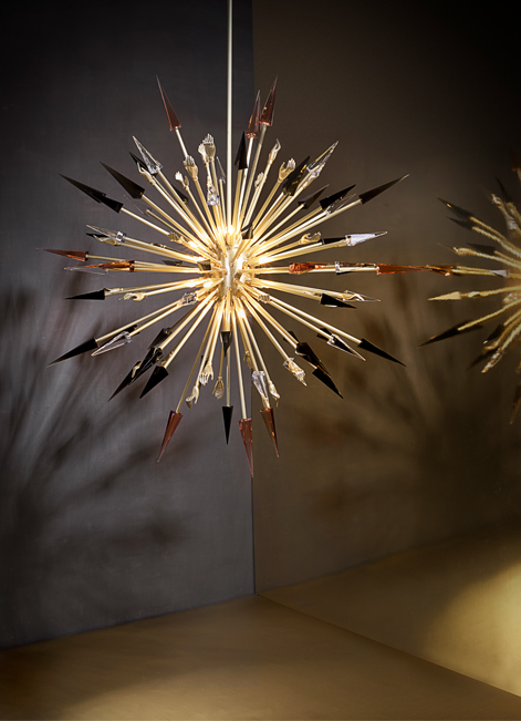 @koket Projects with Hypnotic chandelier, Prive Day bed  http://www.bykoket.com/projects/