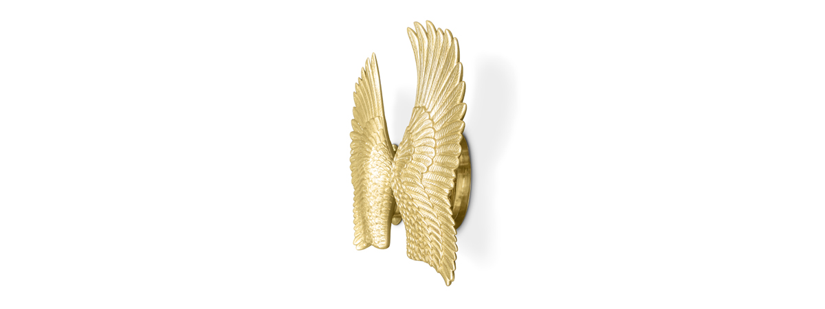 Pluma Sconce Koket Love Happens