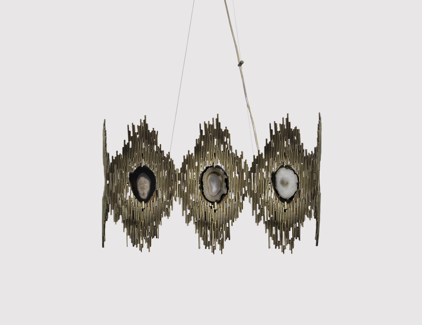 VIVRE SQUARE Chandelier by KOKET