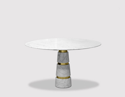 Avalanche Dining Table by KOKET