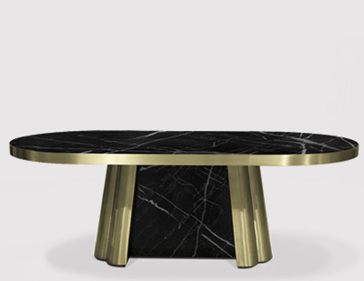 Decodiva II Dining Table by KOKET