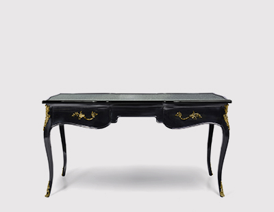 Exotic Ormolu Desk by KOKET