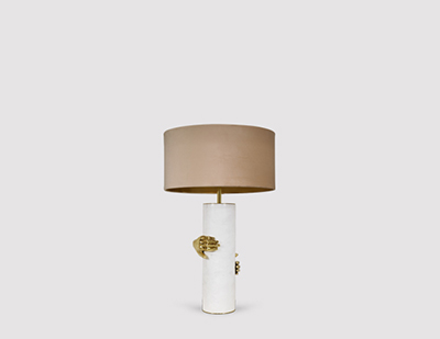 Vengeance Table Lamp by KOKET