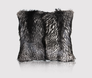 SILVER FOX Pillow by KOKET