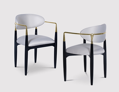 Nahema Chair by KOKET