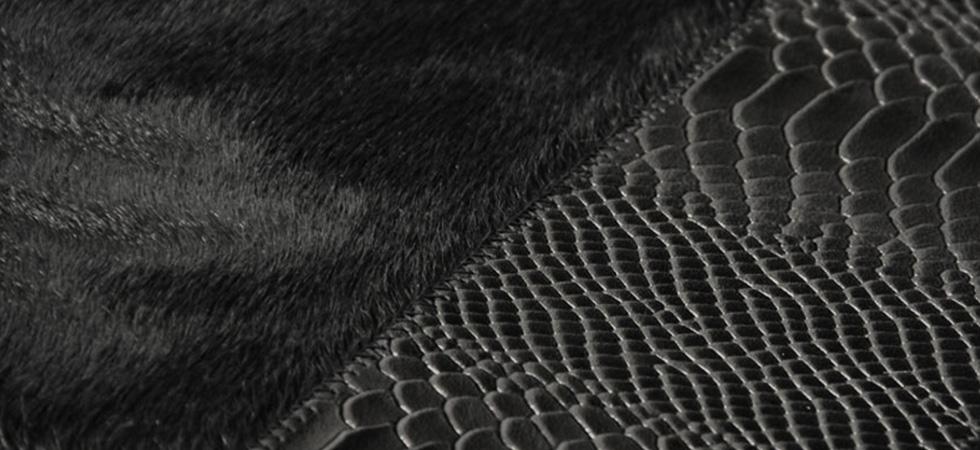 Rug Black Cobra By Koket
